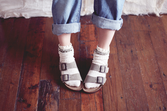 Post image for Trend Alert: Birks & Socks
