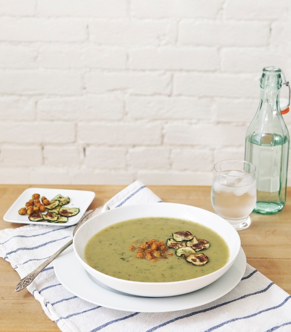 Post image for Curried Zucchini Soup Recipe