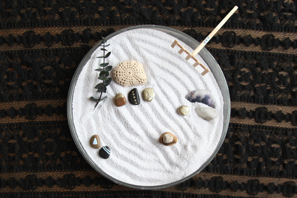 Charmant DIY Mini Zen Garden
