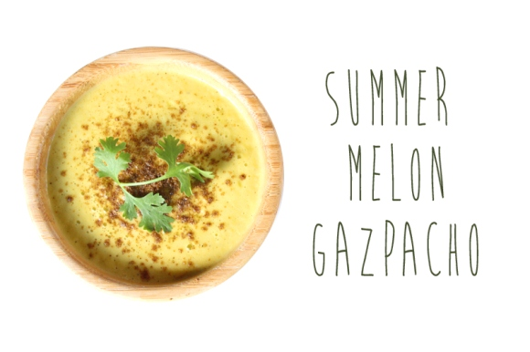 Post image for Fruit Recipes: Summer Melon Gazpacho