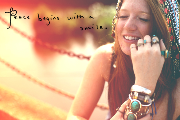 Post image for Monday Quote: Peace Begins With A Smile