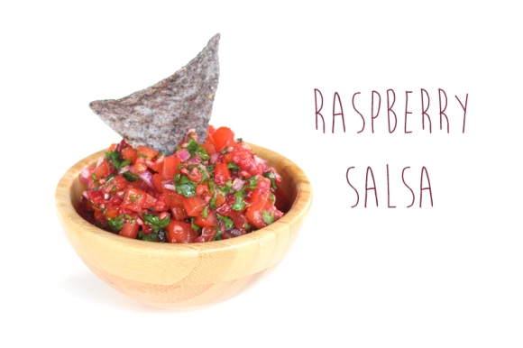 Post image for Fruit-Themed Recipes: Raspberry Salsa