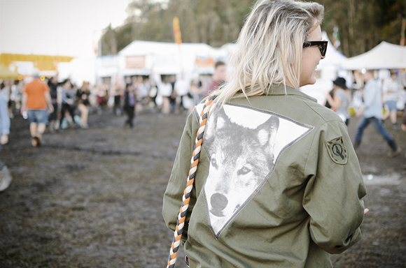 wolf jacket festival fashion