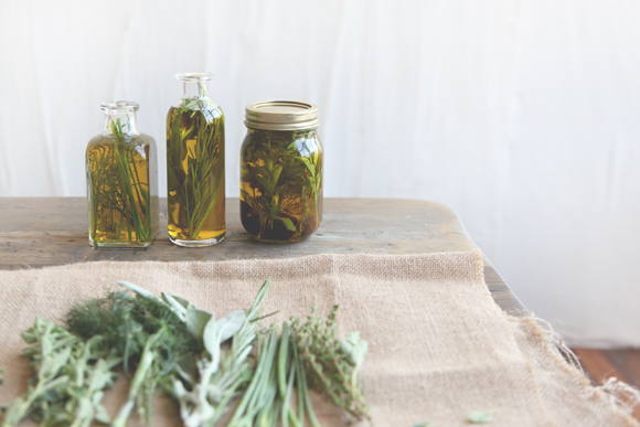 Herb-Infused Olive Oil 3