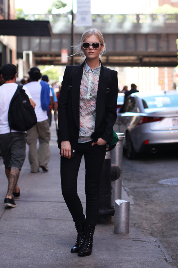 NY Fashion Week - blazer