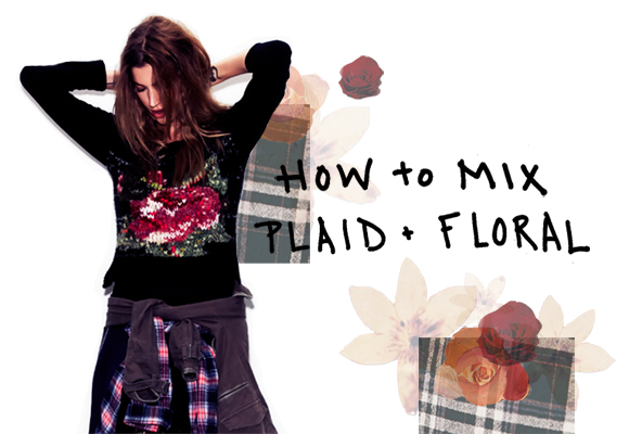 Post image for How To Mix Plaid & Floral