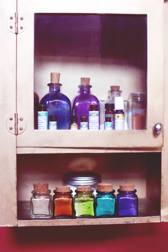 Cabinet of potions