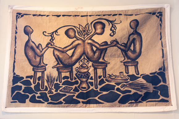 Mudcloth painting