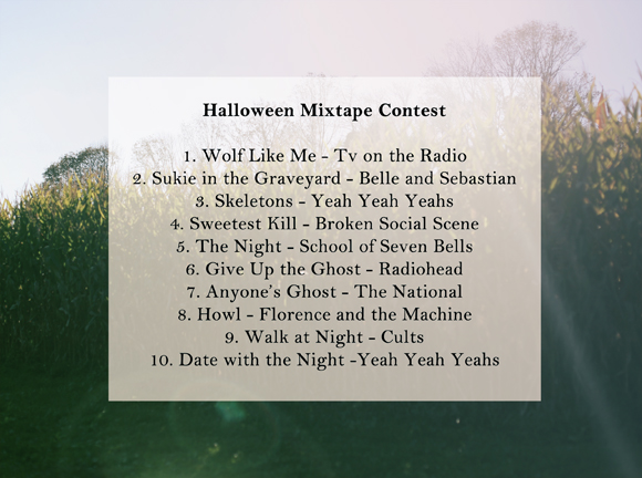 Post image for Halloween Mixtape Contest: The Winning Mix!