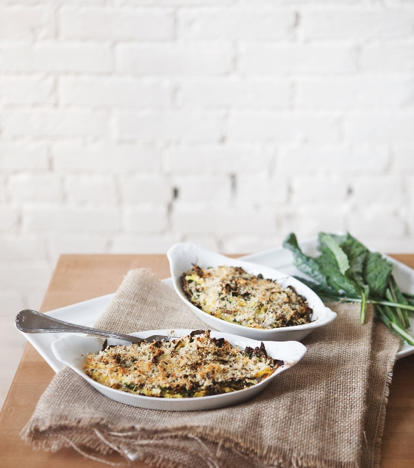 Post image for Spaghetti Squash And Kale Gratin