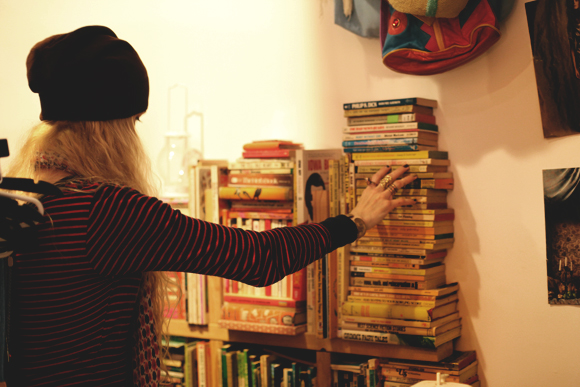 sarah and books