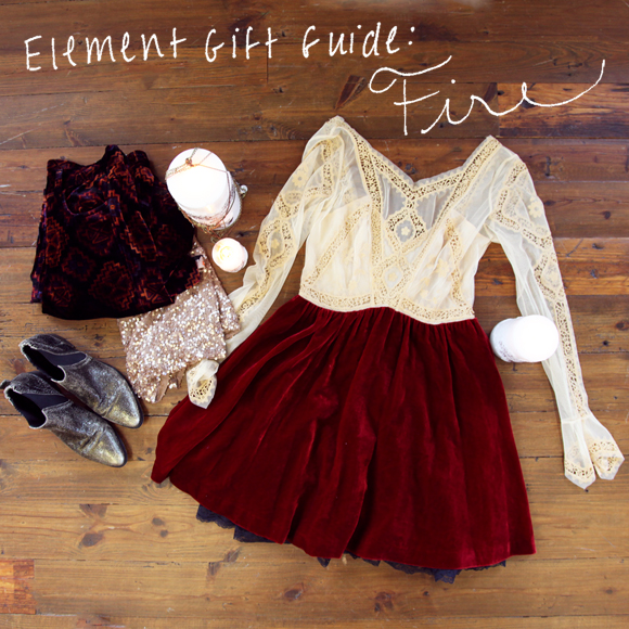 Element gift guide - fire