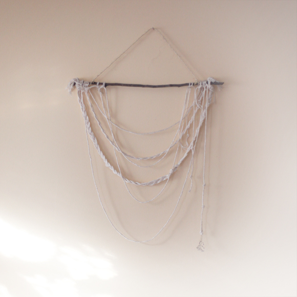 String wall hanging