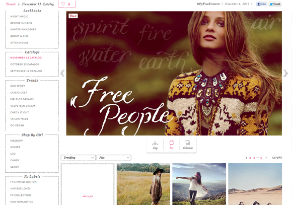 free people november catalog