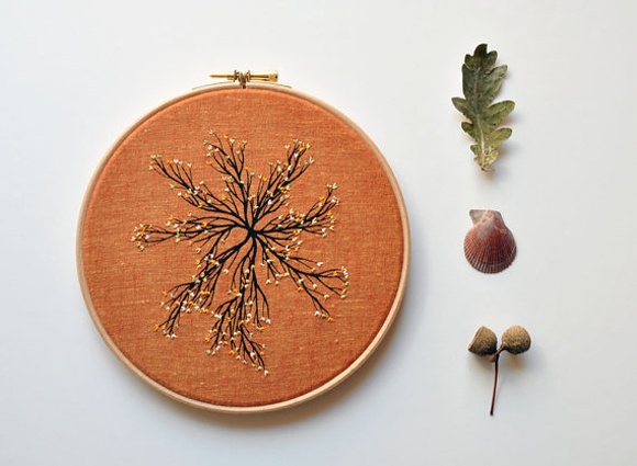 Embroidery hoop art from etsy fricdementol sciox Image collections
