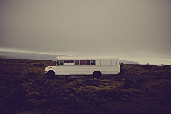 bus in iceland