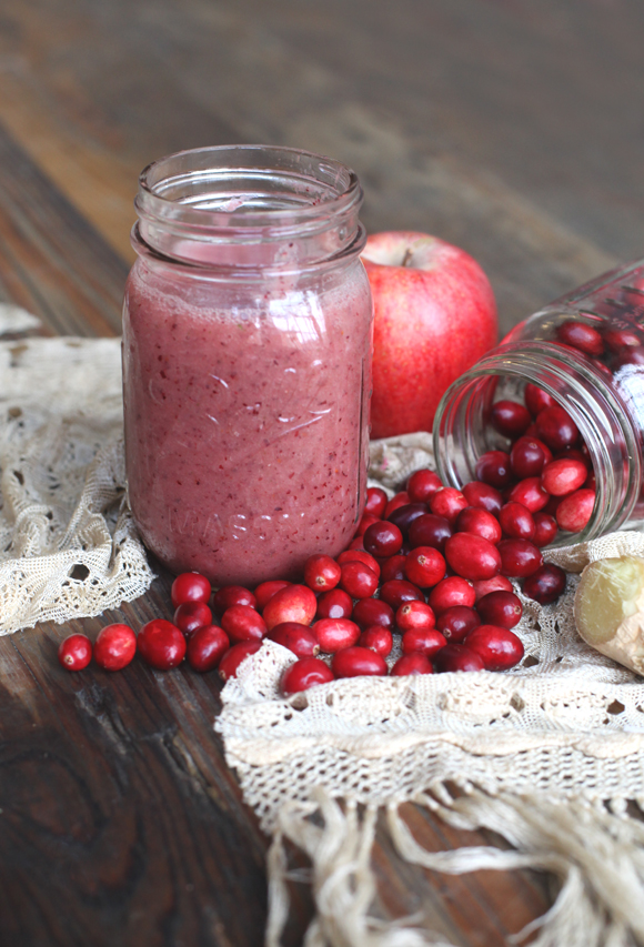 thanksgiving detox smoothie