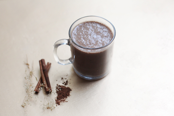 Post image for Vegan Superfood Hot Chocolate Recipe