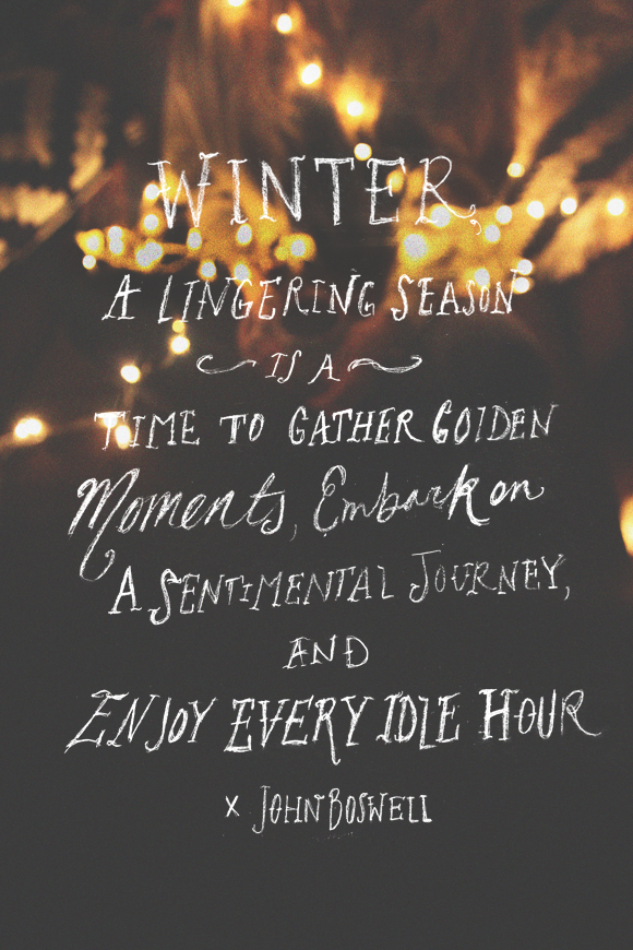 Post image for Monday Quote: Gather Golden Moments