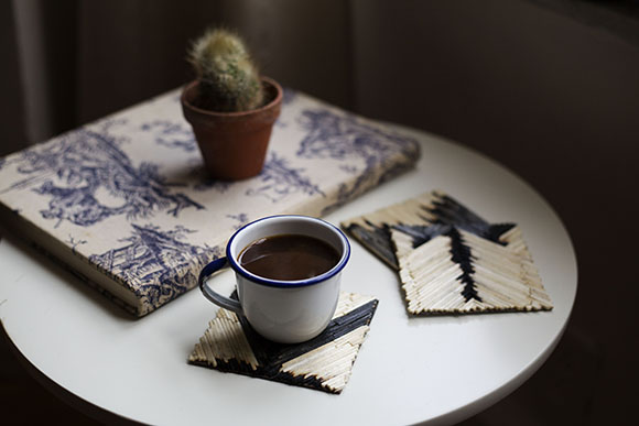 Post image for DIY Matchstick Coasters
