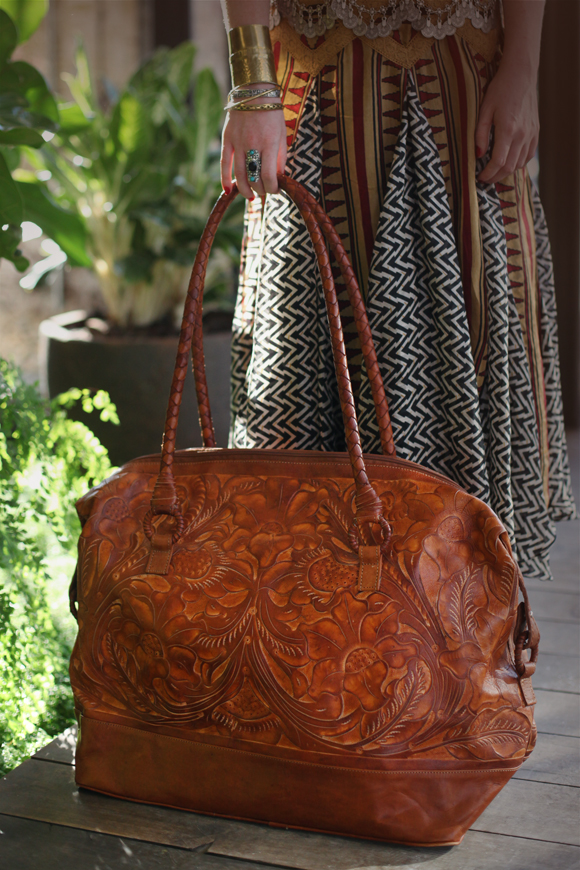 Boho weekend bag