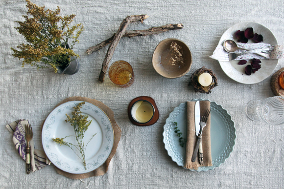 Post image for Creating An Eclectic Table Setting