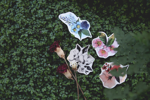Free People floral temporary tattoos