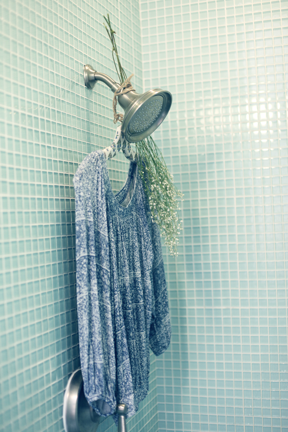 Free People top in shower