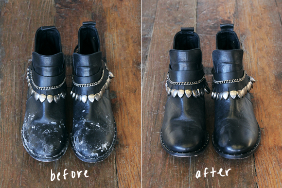 How To Get Water Stain Off Leather Shoes
