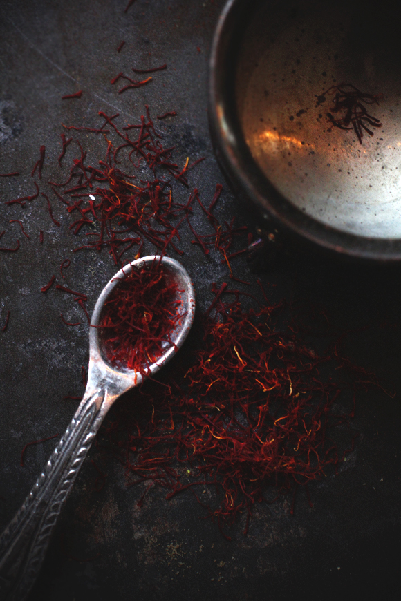 saffron and spoon