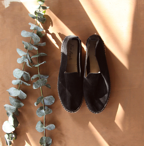 Black Free People espadrilles