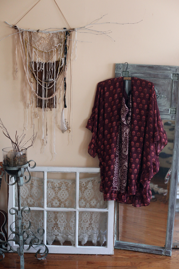 Boho print, wall hanging, bedroom