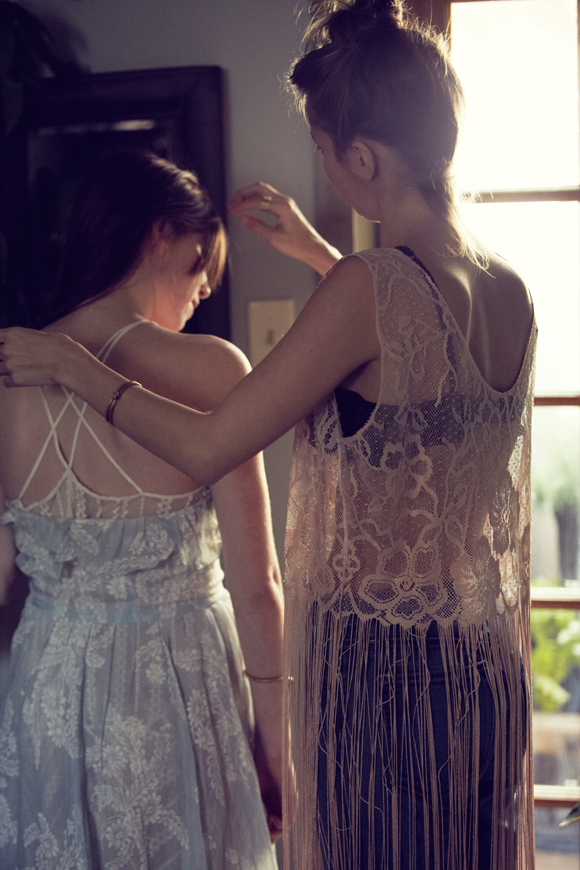Free People Sheer Romance