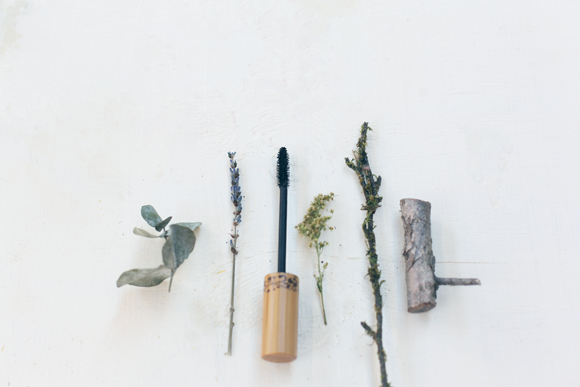 Nature pieces and mascara