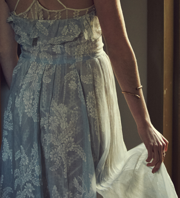 Romantic blue dress