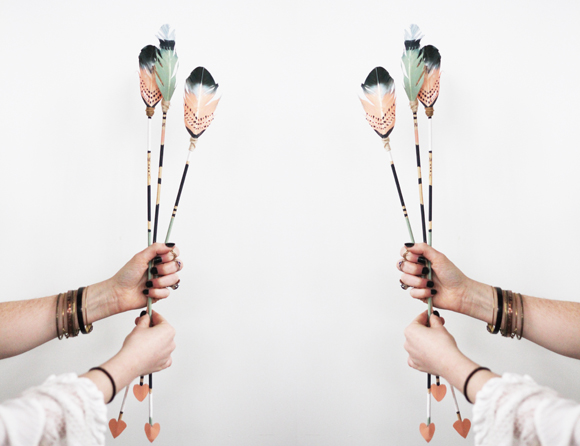 Feather Arrows For Valentine S Day