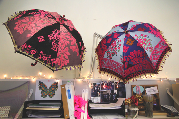 desk umbrellas