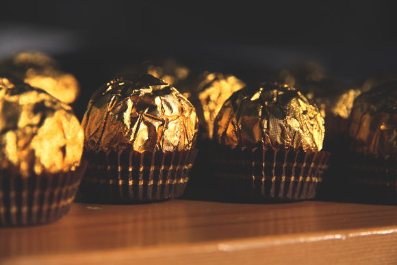 gold chocolates