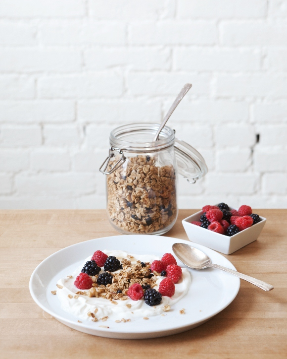 Post image for Blueberry Walnut Granola