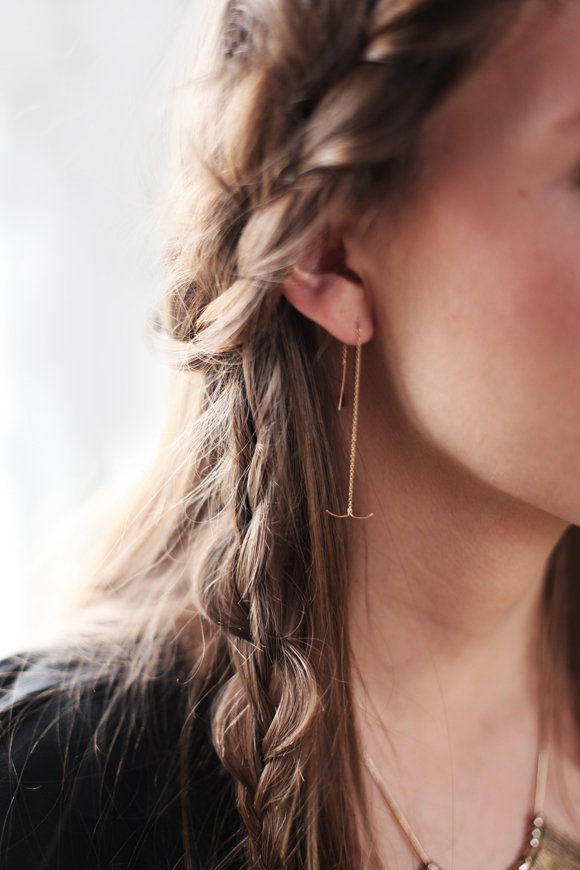 Free People Rackk and Ruin Harpoon Earring