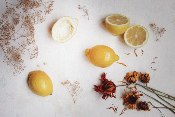 Lemons for beauty