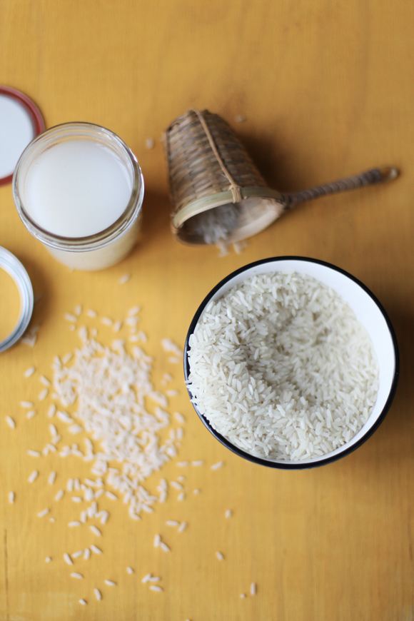 Skin Cleansing With Rice Water