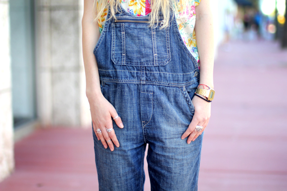 overalls detail