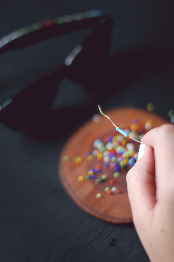 beading the beads