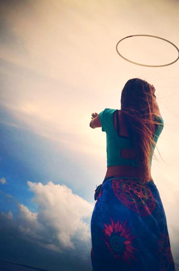 hoop in sky