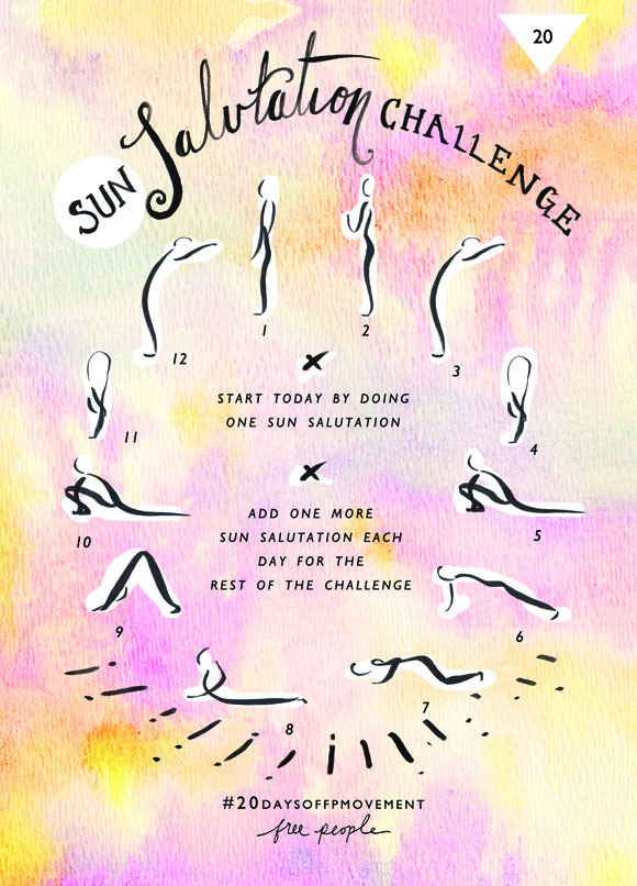 Post image for 20 Days Of Movement, Day 20: Sun Salutation
