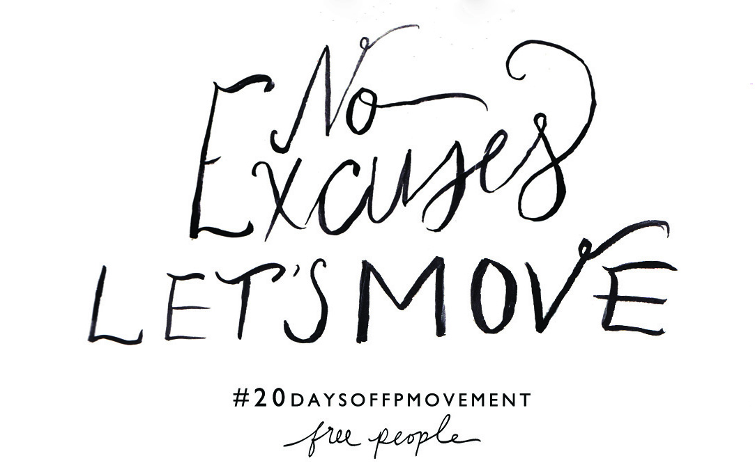 Thumbnail image for 20 Days Of Movement Day 3: No Excuses