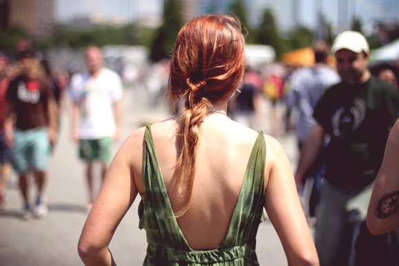 braid and dress