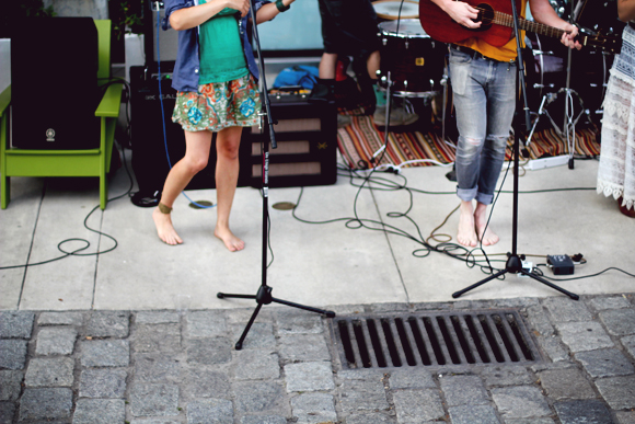 bare footed band