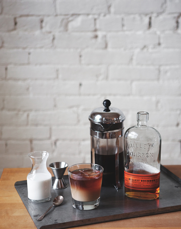 Post image for Summer Cold Brew Bourbon Cocktail